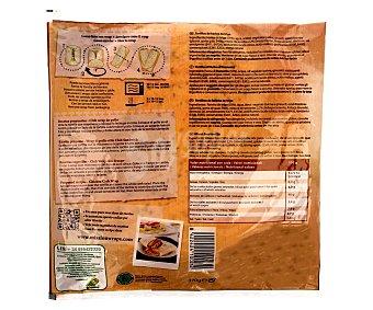 MISSION Wraps multigrain con semillas de lino 370 g (6 unidades)