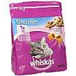 Pienso para gatos esterilizados a base de salmón Bolsa 800 g Whiskas