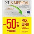 Captagrasas para el tratamiento y prevención del exceso de peso caja 180+180 pastillas Peso caja 180+180 pastillas Xls medical