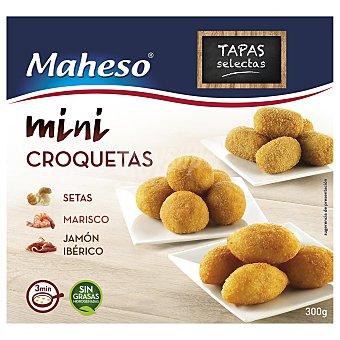 Maheso Surtido de mini croquetas 300 gr