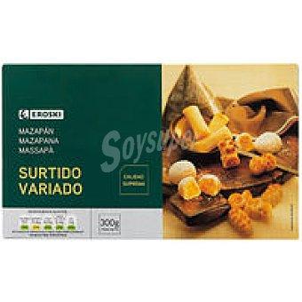 Eroski Surtido de mazapán Caja 300 g