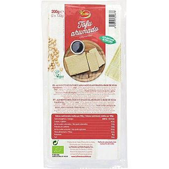Vivibio Tofu ahumado ecológico elaborado a base de soja  unidad 200 g