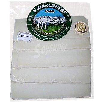 Valdecabras Queso semicurado de cabra en lonchas Envase 200 g