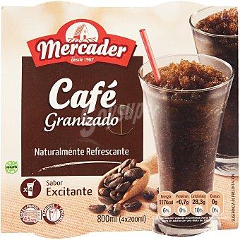 MERCADER Granizado de café 4 vasos 800 ml