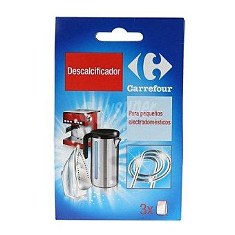 Carrefour Descalcificador pequeños electrodomésticos 3 ud