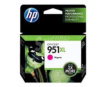 HP Cartucho de tinta 951XL, Magenta, compatible con impresoras: Officejet Pro 8100 / 8600.