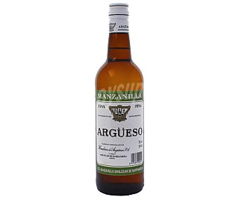 Argueso Vino Manzanilla de Jerez Botella 75 Centilitros