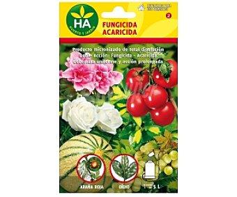 HA-Huerto y Jardín Fungicida acaricida soluble, sobre para preparar 5 Litros 20 Gramos