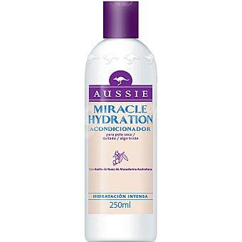 Aussie Acondicionador Miracle Hydration con Aceite de Nuez de Macadamia Australiana frasco 250 ml hidratación intensa para cabello seco Frasco 250 ml