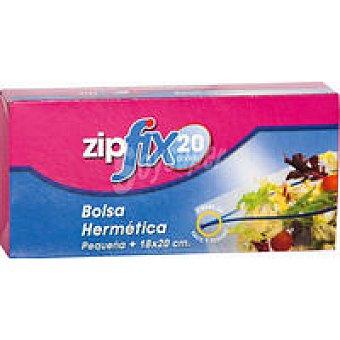 Zipfix Bolsa hermética zip pequeña 18x20 Caja 20 unid