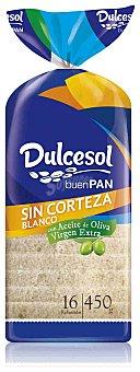 Dulcesol Pan de Molde sin Corteza Dulcesol 450g 450 gr