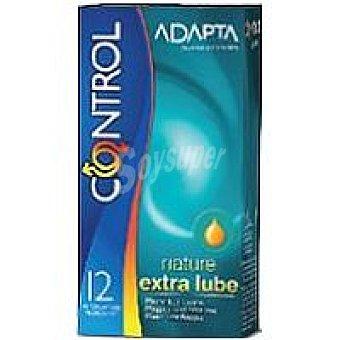 Control Preservativo natural extra lubricación Caja 12 unid