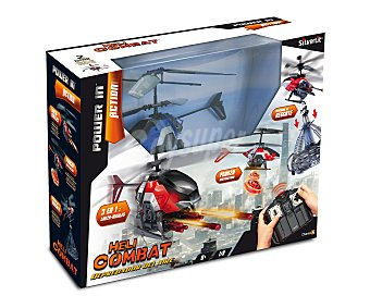 Silverlit Helicóptero de Combate Teledirigido Heli Combat 1 Unidad