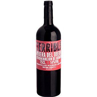 TERRIBLE Vino tinto crianza D.O. Ribera del Duero Botella 75 cl