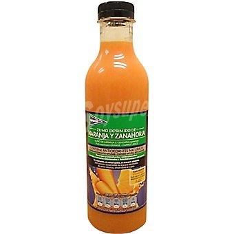 Hipercor Zumo exprimido de naranja y zanahoria Botella 750 ml