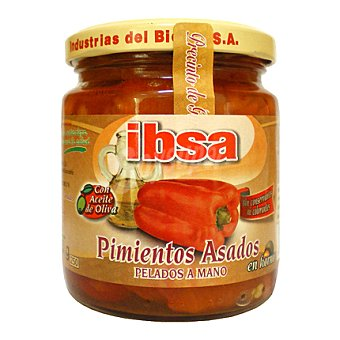 Ibsa Pimientos asados con aceite de oliva 210 g