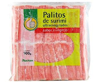 Productos Económicos Alcampo Palitos de surimi sabor cangrejo 900 gramos
