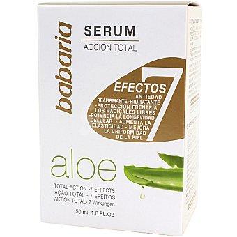 Babaria Serúm acción total 7 efectos Aloe Vera dosificador 50 ml Dosificador 50 ml