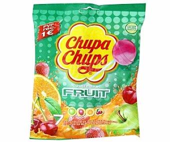 CHUPA CHUPS Caramelos palo Fuit, sabores surtidos 7 Unidades