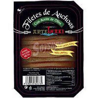 Arteiñaki Anchoa en aceite de oliva bandeja 50 g