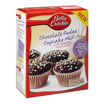 Betty Croker Prep cupcakes de chocolate 303 g