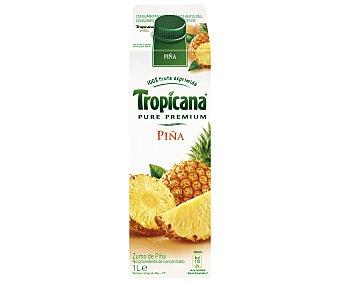 Tropicana Pure Premium Zumo de piña Brik 1 l