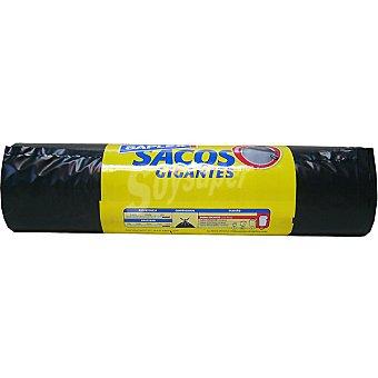 Saplex Bolsas de basura gigantes 80X105 100 L Paquete 10 bolsas