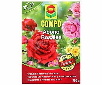 Compo de abono granulado especial para todo tipo de rosales compo Caja de 0.75 kilos