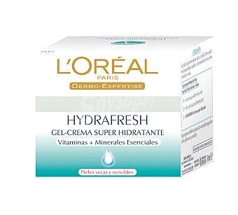 L'Oréal Paris Crema de Día Hydrafresh Pieles Pieles Secas de l'oréal 50 ml