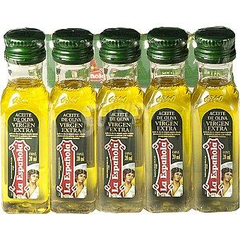 LA ESPAÑOLA Monodosis aceite de oliva virgen extra Pack 5x20 ml