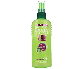 Fructis Style Garnier Agua de peinado hidra-rizos con micro-ceras de frutas fortificantes Spray 150 ml