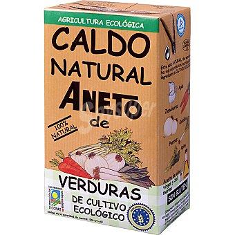 Aneto Caldo natural de verduras de cultivo ecológico Envase 1 l