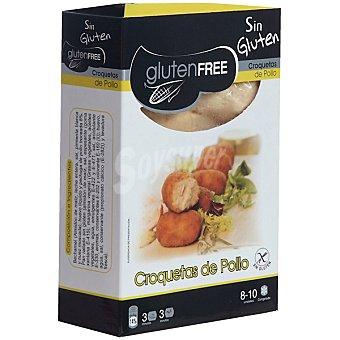 GLUTENFREE Croquetas de pollo sin gluten 8-10 piezas Envase 200 g