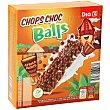 Barritas de cereales chops choc balls Caja 120 g (6 u) DIA
