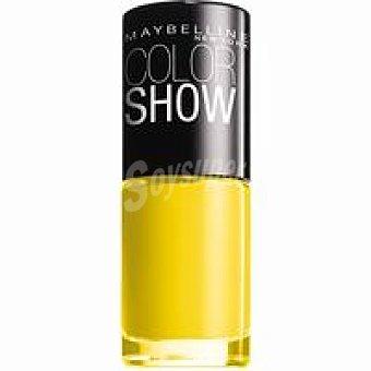 Maybelline New York Laca de uñas Color Show 749 Electric Pack 1 unid