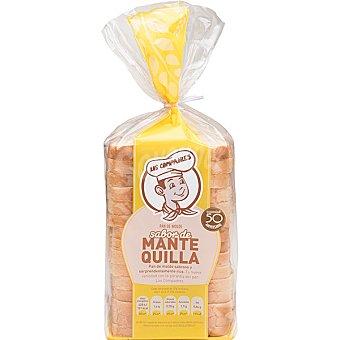 Panadería Los Compadres pan de molde con sabor de mantequilla paquete 500 g