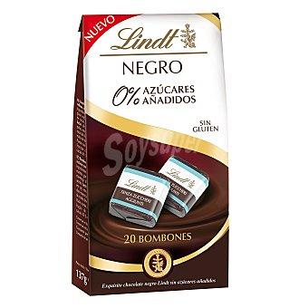 Lindt Bombones chocolate negro 0% sin gluten 20 ud