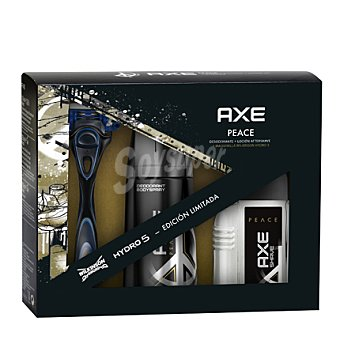 Axe Estuche desodorante 150 ml. + maquinilla + Aftershave 100 ml.  1 ud