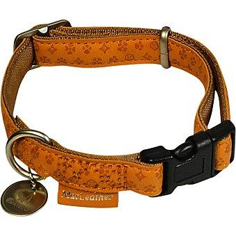 Nayeco Coleccion Macleather collar para perro piel marron medidas 35-50 cm x 2 cm 1 unidad 1 unidad