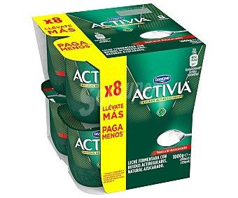 Activia Danone Activia natural azucarado 8 unidades de 125 g