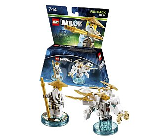 LEGO Pack de diversión Sensei Wu, Ninjago, incluye 2 figuras interactivas Lego Dimensions 1 unidad