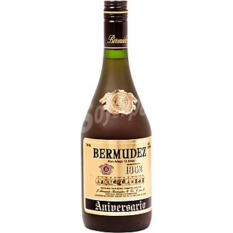 BERMUDEZ Aniversario Ron añejo 12 años Botella 70 cl