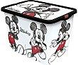Caja de ordenación con tapa y diseño Mickey Mouse, 23 litros, DISNEY. 23 litros Mickey Disney