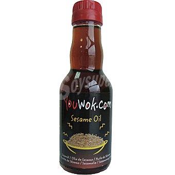 Youwok.com Aceite de semillas de sésamo Botella 145 ml