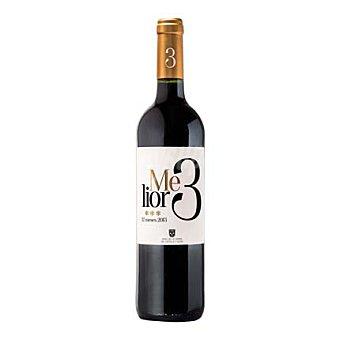 Melior 3 Vino de la Tierra de Castilla y León tinto crianza Botella de 75 cl