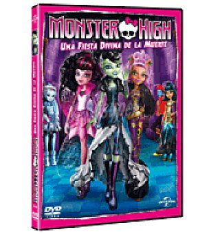 Monster High Una fiesta divertida dvd