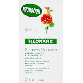 Klorane Champú Capuchina Bote 200 ml
