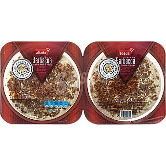 Aliada Pizza fresca mini dúo barbacoa Envases 220 g