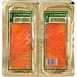 Salmón ahumado selección escocesa pack 2 envases 50 g La balinesa