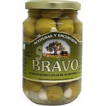 Bravo Aceitunas rellenas de almendra Frasco 200 g
